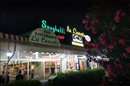 Ristorante Pizzeria La Carretta, Hotel Virginia Versilia
