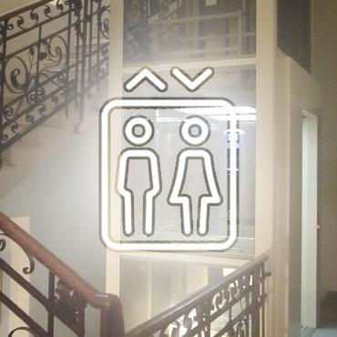 Ascensore, Hotel Virginia Versilia
